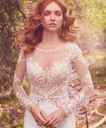 νυφικο blance main maggie sottero νυφικά 20177ms375-back,jimmys bridal fashion